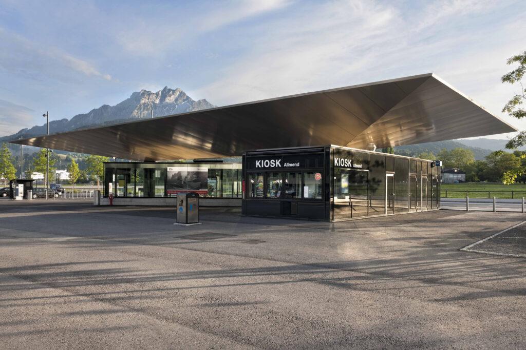 Zentralbahn Haltestelle Allmend, Luzern